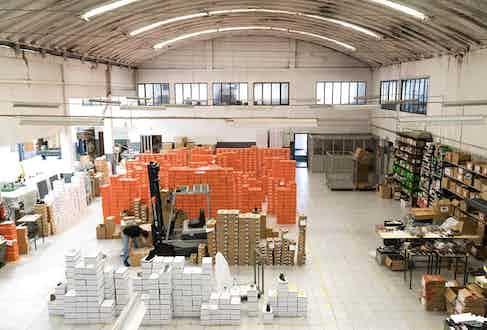 The factory in Porto, Portugal.