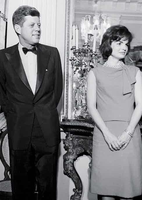 John F. Kennedy was one of Charvet's regular customers.