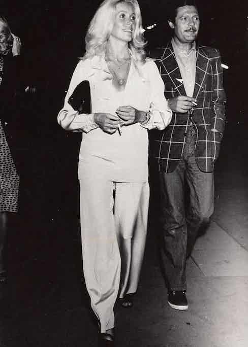French actress Catherine Deneuve has worn Charvet's shirts.