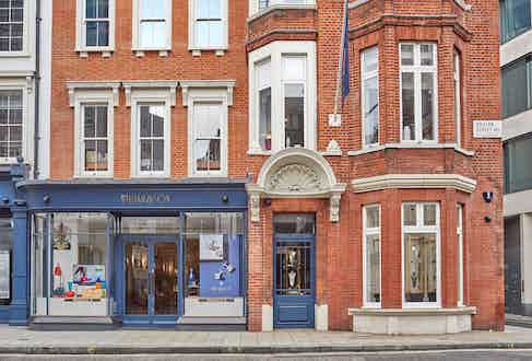The William & Son flagship store in Bruton Street, London.