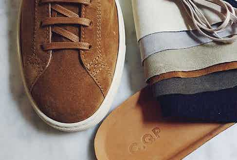 C.QP sneakers are crafted in Portugal.