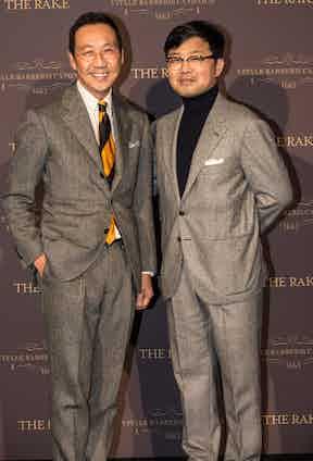 Camoshita's Yasuto Kamoshita and Hun Lee.