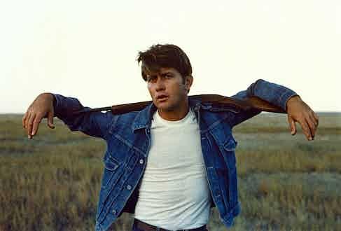 Martin Sheen wearing a Type 1 denim jacket in Badlands, 1973.