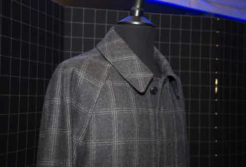 The VBC x Grenfell coat, exclusive to The Rake Atelier.