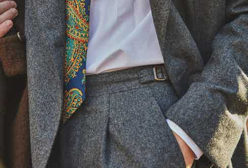One shouldn't focus excessively on tie length however, as it is both unnecessary and can look self-conscious.
