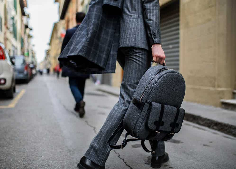 The collection is made entirely of VBC's 340g Original Flannel. Photograph by Massimiliano Cervone.