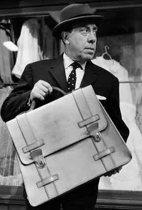 Gentlemen have always carried briefcases in professional environments.