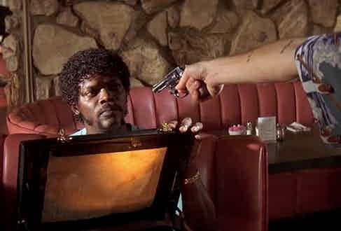 Jules Winnfield's briefcase in Pulp Fiction has caused endless discussion among fans of the cult film - Quentin Tarantino has yet to reveal the contents.