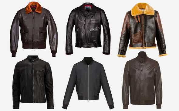 9 of This Season's Best Leather Jackets