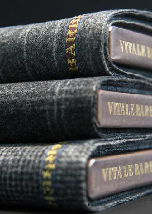 The VBC flannel used for The Rake's Flâneur Collection.
