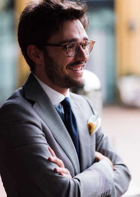Communications Manager Simone Ubertino Rosso. Photograph by Luke Carby.