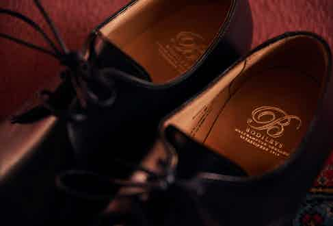 All Bodileys' shoes are made in Northampton, Britain's mecca of men's shoes. Photograph by Kim Lang.