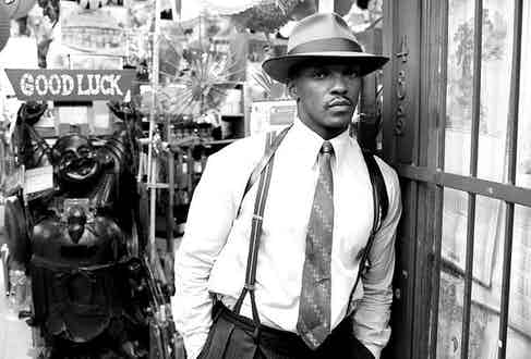 Anthony Mackie in Gangster Squad, 2013.