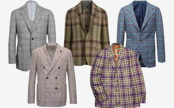 5 of the Best Check Jackets