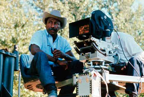 Parks became the first black artist to produce and direct a major Hollywood film with The Learning Tree, 1969.