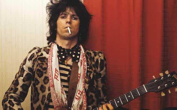 Keith Richards: Elegantly Wasted