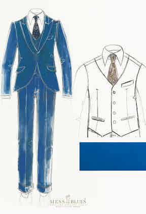 One of Stefano Zamuner's stylish ideas manifested in sketch form.