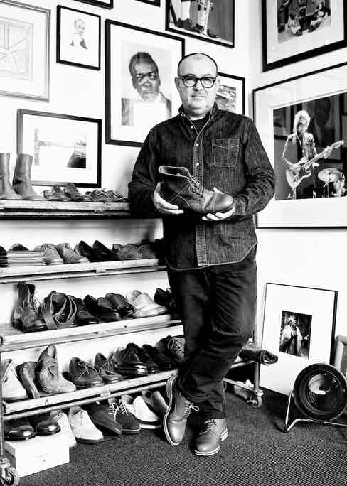 Shoe designer Tim Little bought the Grenson factory from the family in 2010 and owns his own eponymous shoe brand.