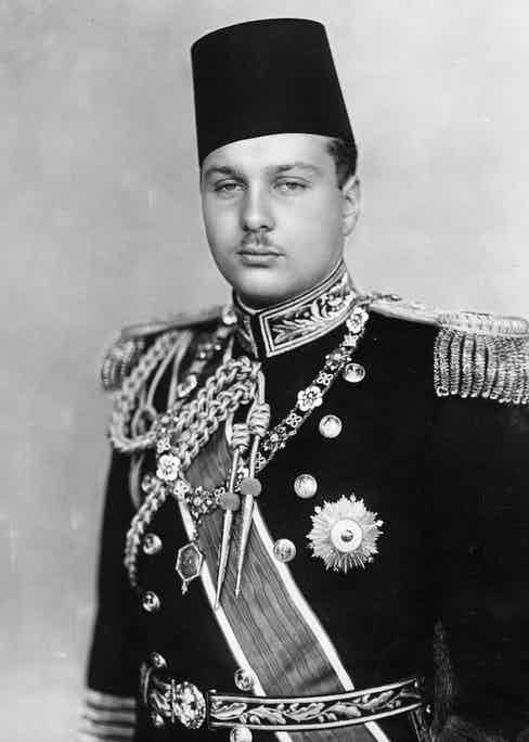 An official portrait from 1939.