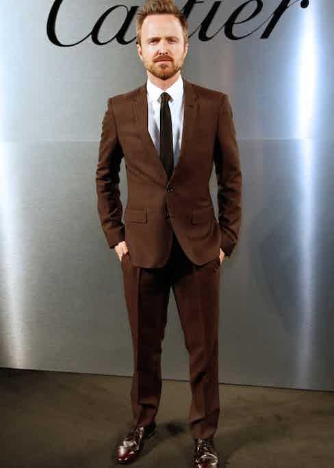 Actor Aaron Paul.