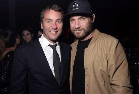 Arnaud Carrez and Liev Schreiber.