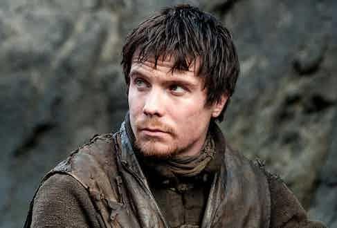 Joe Dempsie as Gendry Baratheon in Game of Thrones.