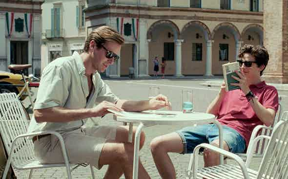 This Week We're Channelling: Oliver in Call Me By Your Name