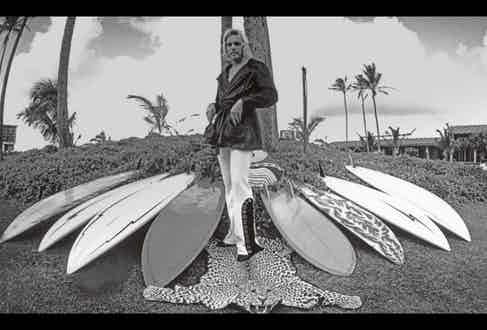 Bunker's board-shaping experimentation in the late 60s is said to have revolutionised the art of short boarding.