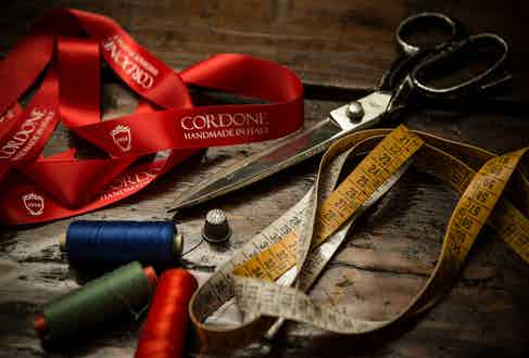 A selection of tools from the Cordone workroom.