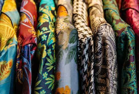 New & Lingwood's vibrant designs.