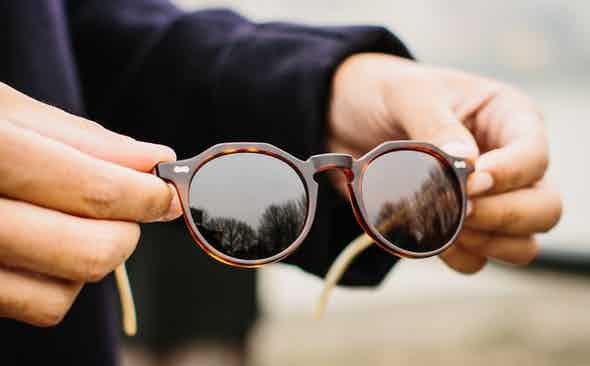 Sun's Out, Sunglasses On: Round-Frame Edit