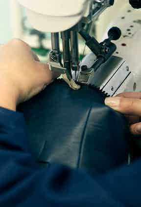 Every tooth on each of the zippers is polished to create the perfect glide.
