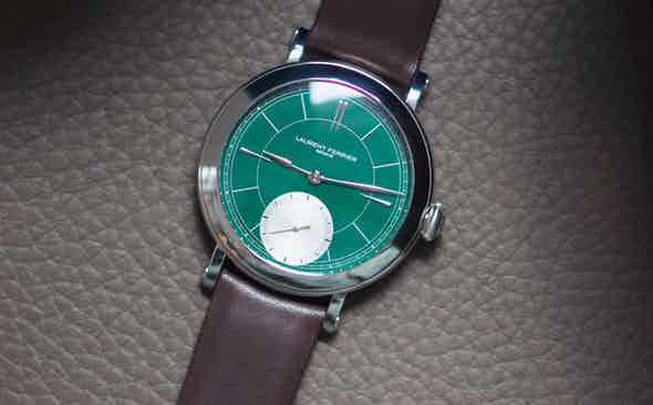 Watch of the Week: Laurent Ferrier Galet Micro-Rotor 'Montre Ecole' British Racing Green