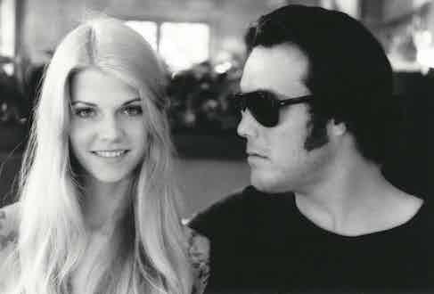 Bunker with girlfriend Ellie Conn, shot by Art Brewer.