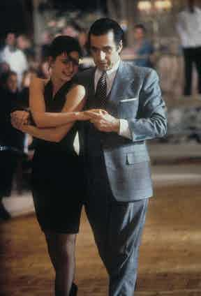 Al Pacino's wardrobe in Scent of a Woman was designed by Alan Flusser, a celebrated author, stylist and designer who specialises in classical menswear.