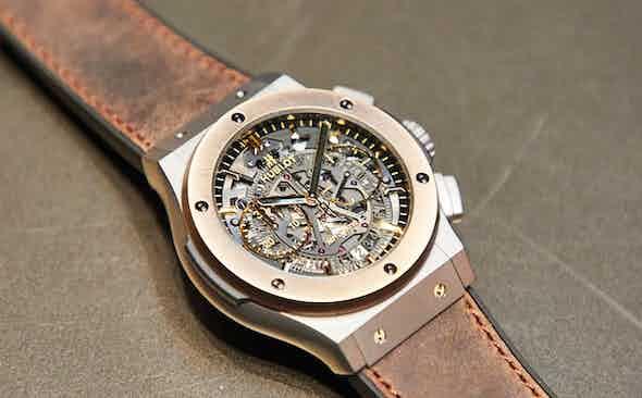 Exclusive! Hublot Aerofusion Chronograph Special Edition 'The Rake'