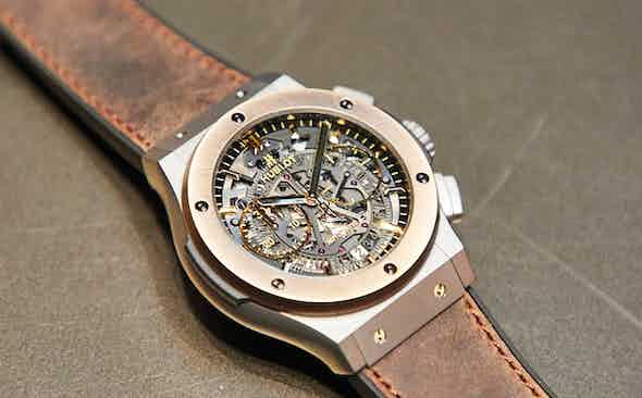 Exclusive! Hublot Aerofusion Chronograph Special Edition 'The Rake'