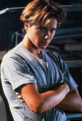 Phoenix took the humble T-shirt to the next level in the film Running on Empty, 1988.