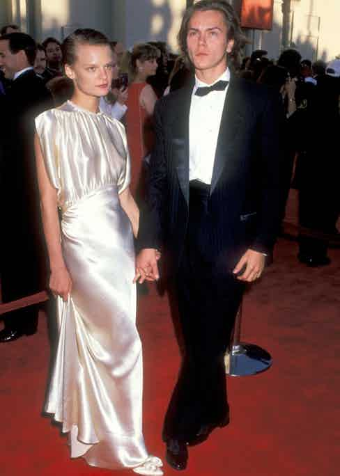 River Phoenix and Martha Plimpton attend the 61st Annual Academy Awards in 1989. Photograph by Ron Galella.