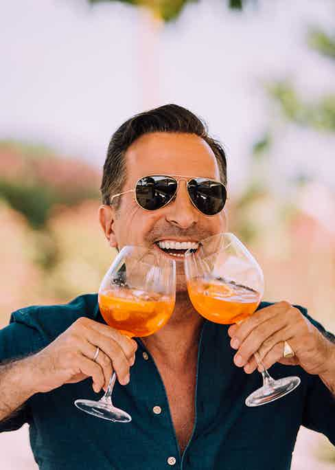 Because two Aperol spritz are twice as much fun as one.