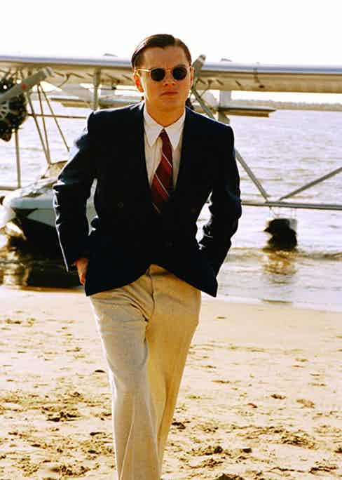 Hughes sporting classic navy and cream separates.