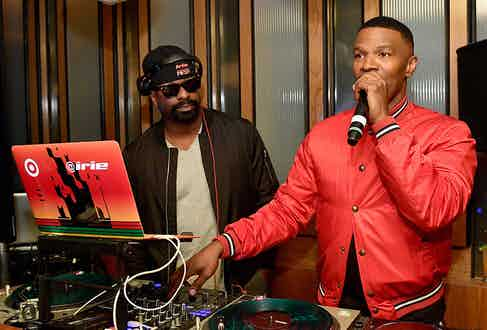 Although Foxx started playing the piano at 5, it wasn't until he started throwing house parties in LA that his music career really took off (Alamy).