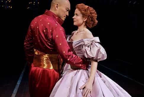 After the huge success of The King & I on Broadway, Watanabe reprised the role of the King of Siam at London's Palladium theatre. (Paul Kolnik).