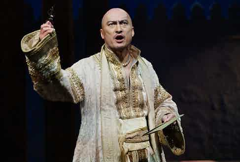 In Watanabe's latest role, he plays the King of Siam in Rodgers and Hammerstein's The King & I at London's Palladium.