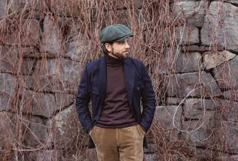Erik Mannby, editor-in-chief of Palaza Uomo, opts for an earthy and country-esque ensemble with all components offering a point of difference.