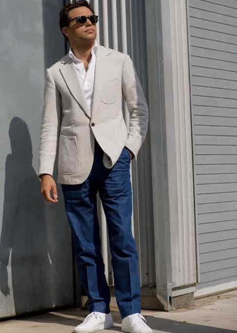 Easily dressed up or down, they underline the recent shifts in tailoring towards a more relaxed and contemporary attitude. Photo by Robert Spangle.