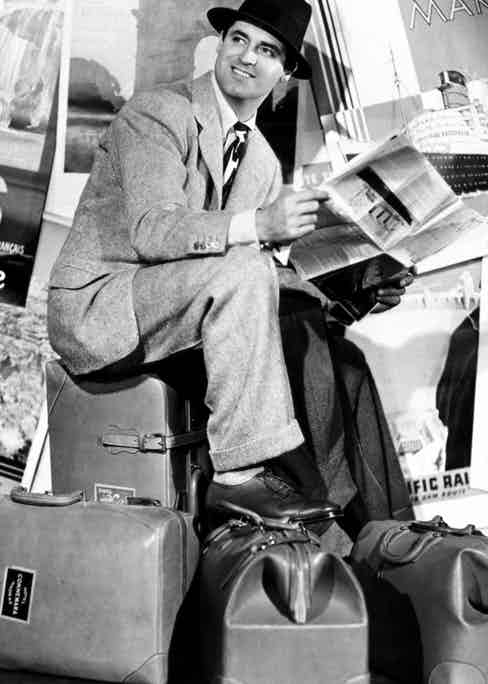 Cary Grant in Holiday (1938). Photograph courtesy of Alamy.