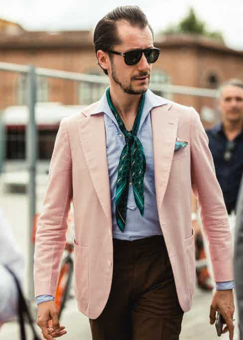 The tried-and-true combination of pink and brown gets given a modern update by Stefano Zamuner.