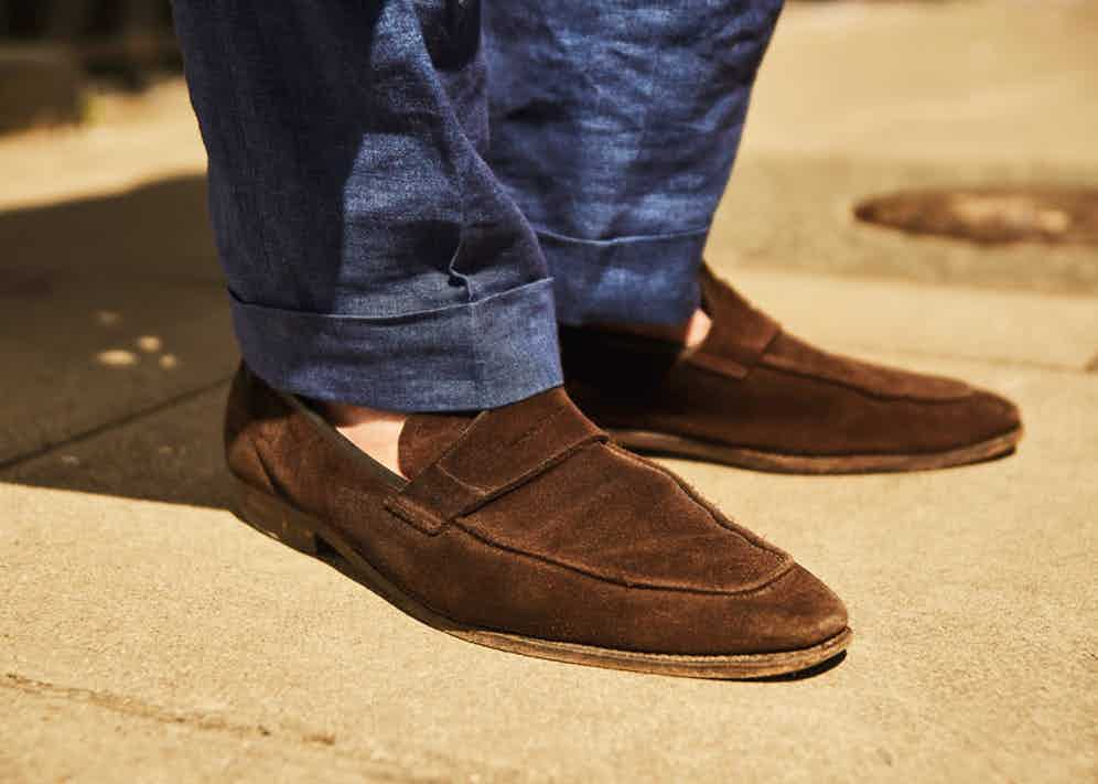 """For shoes, Karl shops at George Cleverley. """"I've had them for so long they're like slippers, a second skin. They're my go-tos, my old friends, and old friends never let you down."""""""