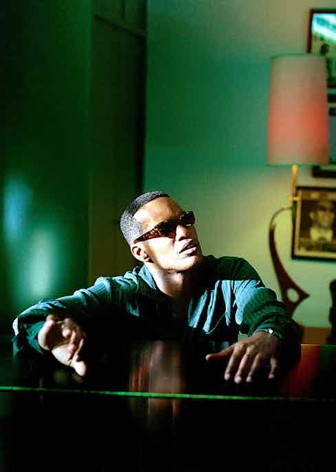 Foxx's portrayal of musician Ray Charles in the 2004 biopic Ray deservedly earned him an Academy Award for Best Actor (Alamy).